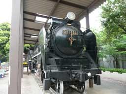蒸気機関車D51853(飛鳥山公園内展示) | 散策ガイド | 飛鳥山3つの博物館